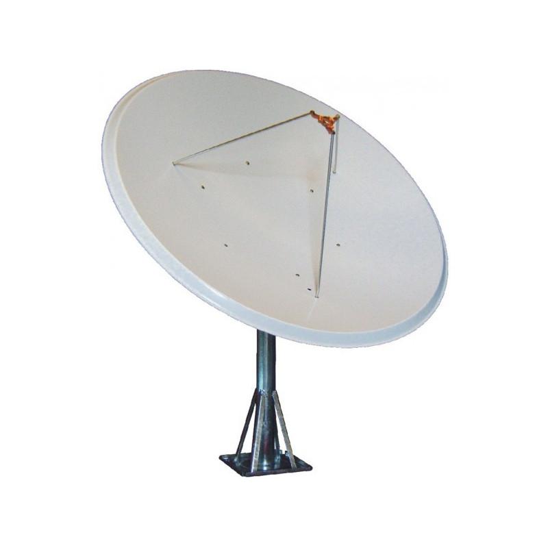 Antena parabolica 140cm fixa foco primario aluminio ref-AF140